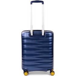 Trolley Cabina Rigido Roncato Stellar Blu 414703 TSA 4 Ruote Ryanair