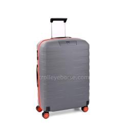 Trolley Medio Rigido Roncato Box Young Verde Menta Arancio 5542 TSA 4 Ruote