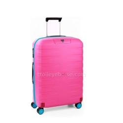 Trolley Medio Rigido Roncato Box Young Rosa 5542 TSA 4 Ruote