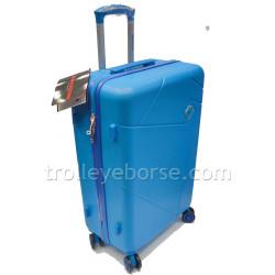 Roncato Trolley Cabina Ryanair 2 Ruote Adventure Blu 1,8kg 414303