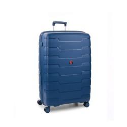 Roncato Trolley Medio Rigido Blu Espandibile Skyline 418152