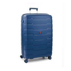 Roncato Trolley Grande Rigido Blu Espandibile Skyline 418151