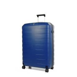 Trolley Medio Rigido Blu Roncato Box 2.0 4 Ruote Made in Italy TSA