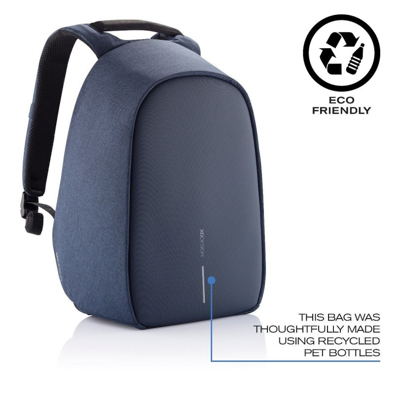 "Rains Zaino MiniBackpack Blue 13"" Laptop Articolo 1280"