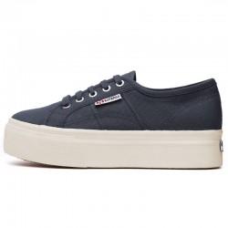 Superga Platform Blu Numero 35 2790 Up And Down Sneaker Donna