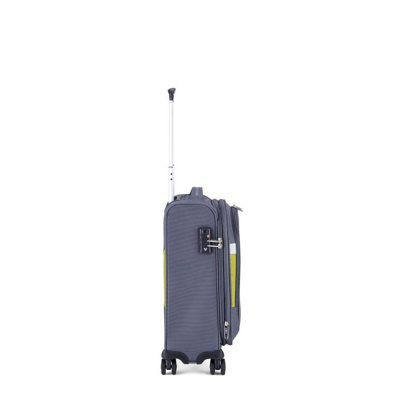 Roncato Trolley Grande 4 Ruote Box 2.0 Blu 5541 Polipropilene Made in Italy