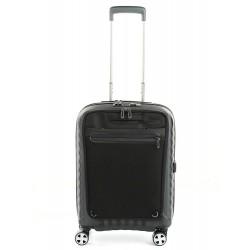 Roncato Double Premium Trolley Cabina Rigido e Zaino PC Tablet 5146 Nero