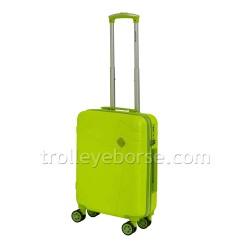 Ravizzoni Trolley Cabina Rigido Rainbow Fucsia 56256 TSA 4 Ruote
