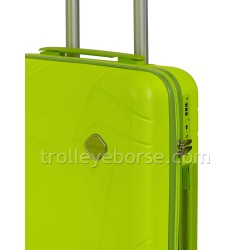 Jaguar Trolley Cabina 4 Ruote Ryanair Grigio Denim 404 TSA
