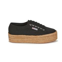 Superga Rope Nero S51186W 2790 Sneaker Donna Platform Espadrillas