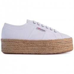 Superga Rope Bianco S51186W 2790 Sneaker Donna Platform Espadrillas