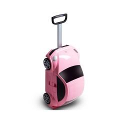 Trolley Volkswagen Beetle 91003w valigia bimba viaggio scuola rigido Pink Rosa